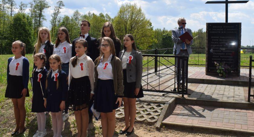Edukacja, Uczcili rocznicę zakończenia wojny - zdjęcie, fotografia