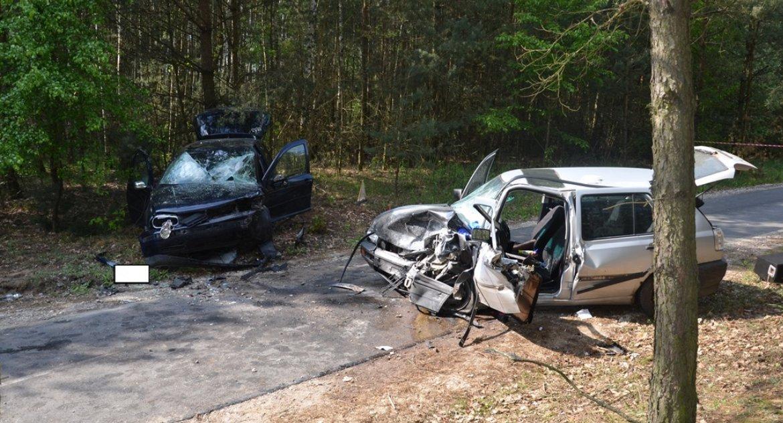 Wypadki, Pijany kierowca spowodował wypadek gminie Bobrowniki - zdjęcie, fotografia