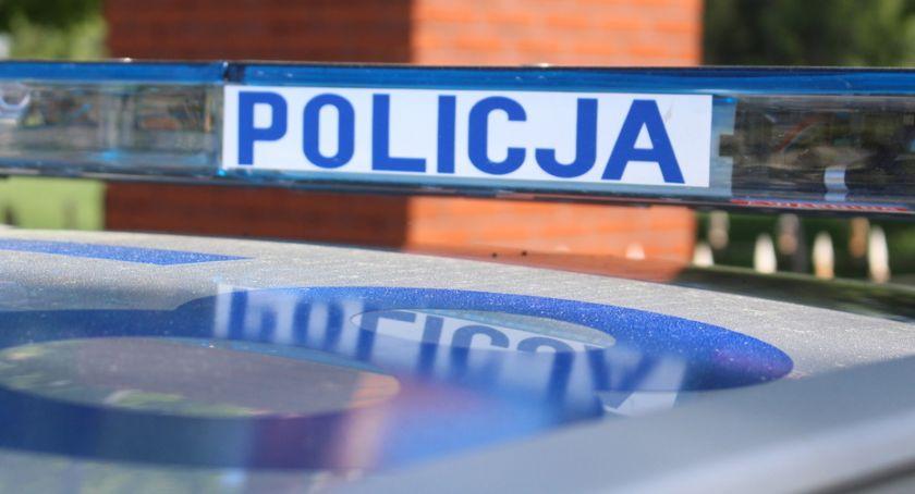 Kronika kryminalna, Narkotyki młodego kierowcy - zdjęcie, fotografia