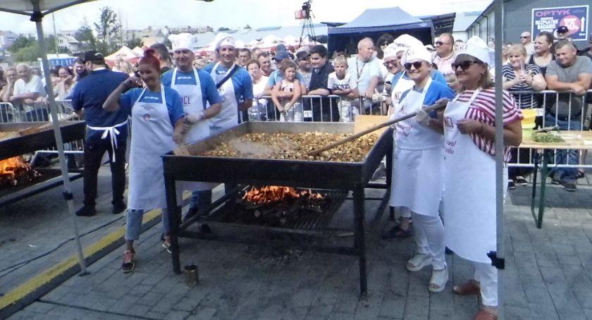 Wydarzenia lokalne, Smakowicie festiwalu - zdjęcie, fotografia