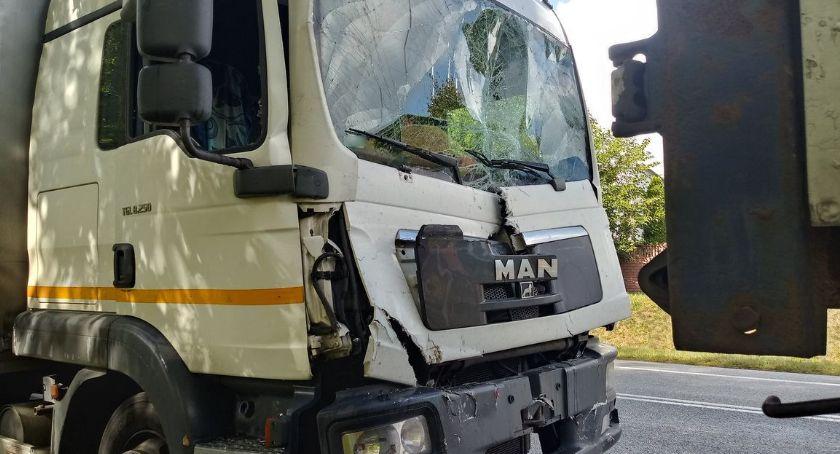Wypadki, Znowu groźnie drogach razem karambol - zdjęcie, fotografia