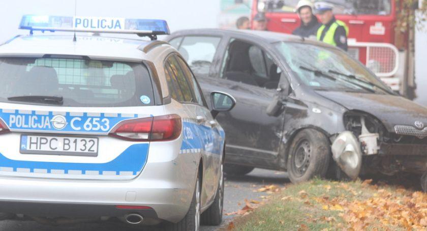 Kronika kryminalna, Chciał przejechać policjanta - zdjęcie, fotografia