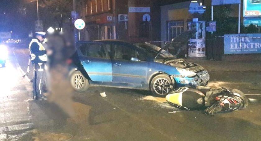 Wypadki, Groźnie drogach - zdjęcie, fotografia