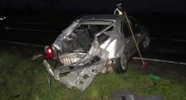 Dwa wypadki w regionie. Pasażer z BMW zginął na miejscu