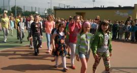 Ewakuacja 300 uczniów Zespołu Szkół w Tłuchowie