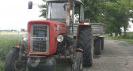 Wariacki rajd ciągnikiem rolniczym