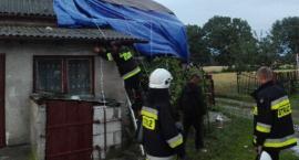 Nawałnica zerwała dach