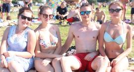 Tłumy nad Jeziorem Orłowskim