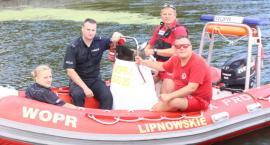 WOPR i policja patrolują rzekę
