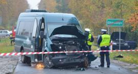 Główczyn: Wypadek z udziałem busa PZTP. 4 osoby w szpitalu!