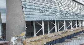 Remont hali SP w Skępem dobiega końca