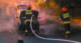 Pożar samochodu w Tłuchowie >>> FILM