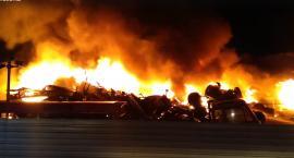 Wielki pożar pod Lipnem. Ogień gasiło 20 jednostek!