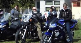 Zaczęli wiosnę na motocyklach