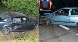 Wypadek w Łochocinie. Dwie osoby w szpitalu