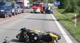 Tragedia na dziesiątce. Nie żyje 25-letni motocyklista