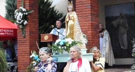 Licznie pielgrzymowali do Matki Bożej w skępskim sanktuarium