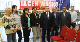 Burmistrz Dobrzynia nad Wisłą zaprezentował swoją drużynę