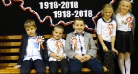 Uczniowie uczcili rocznicę niepodległości