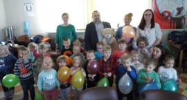 Huczne urodziny misia w Skępem