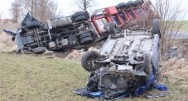 Poważny wypadek w Olesznie