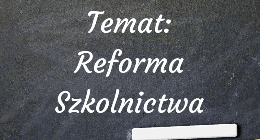 Szkoły, reformie - zdjęcie, fotografia