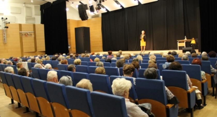Kursy i szkolenia, Wykłady seniorów - zdjęcie, fotografia