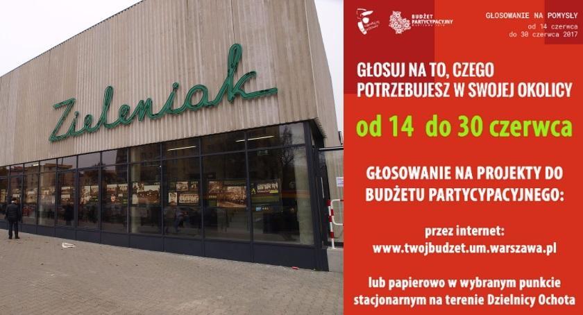 Inwestycje, Zrób zakupy zagłosuj budżecie partycypacyjnym Targowisku Zieleniak! - zdjęcie, fotografia