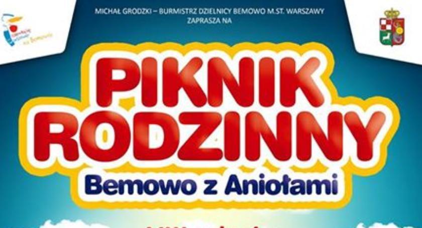 Imprezy, Rodzinny piknik Bemowo Aniołami - zdjęcie, fotografia