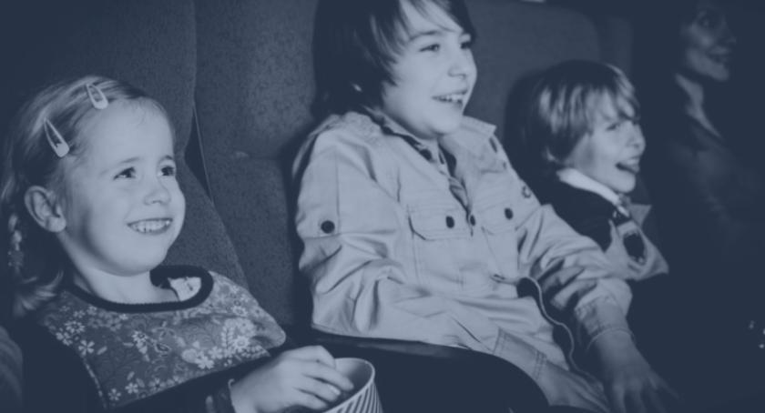 Film, Poranek filmowy dzieci bajka Albercie - zdjęcie, fotografia