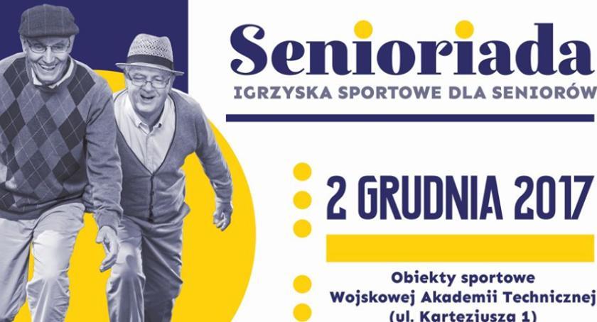 Seniorzy, Igrzyska Sportowe Seniorów - zdjęcie, fotografia