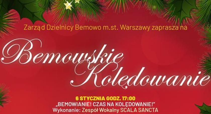 Koncerty, Bemowskie kolędowanie koncerty noworoczne - zdjęcie, fotografia