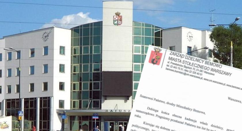 Wiadomości, Bemowo finansuje kampanię wyborczą publiczne pieniądze - zdjęcie, fotografia