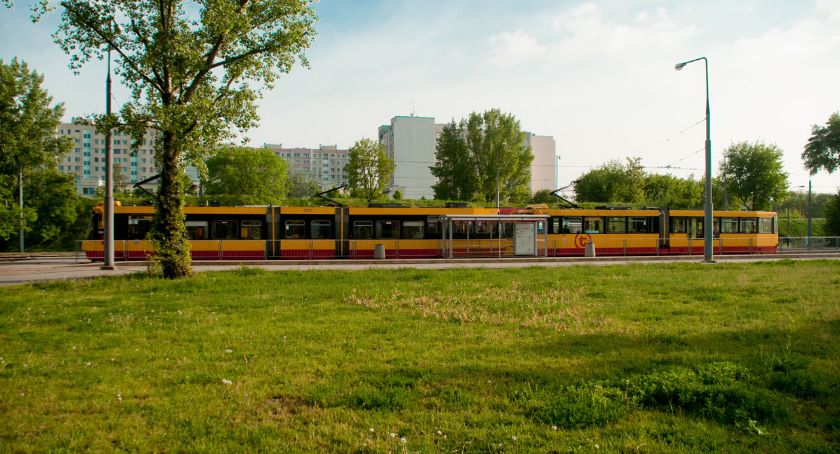 Komunikacja, Pożegnanie pętli tramwajowej osiedle Górczewska - zdjęcie, fotografia