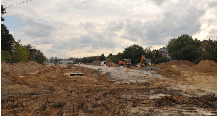 Inwestycje, Budowa Nowolazurowej nabiera tempa - zdjęcie, fotografia