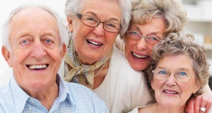 Seniorzy, Dzień Seniora - zdjęcie, fotografia