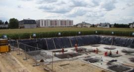 Postępy na budowie przychodni