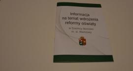 Informator na temat wdrożenia reformy oświaty na Bemowie.