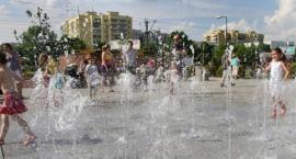 Uwaga na miejskie fontanny!