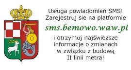 Otrzymuj SMS z informacją o zmianach