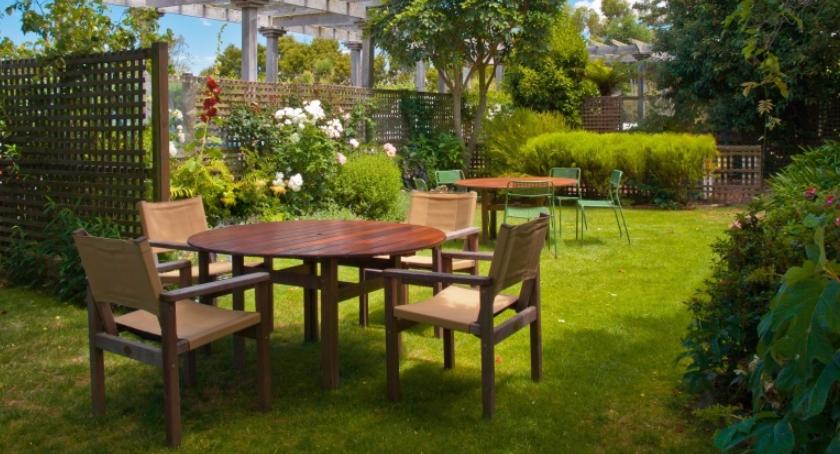Tereny zielone, Drewno ogrodzie niesamowite wrażenie! - zdjęcie, fotografia