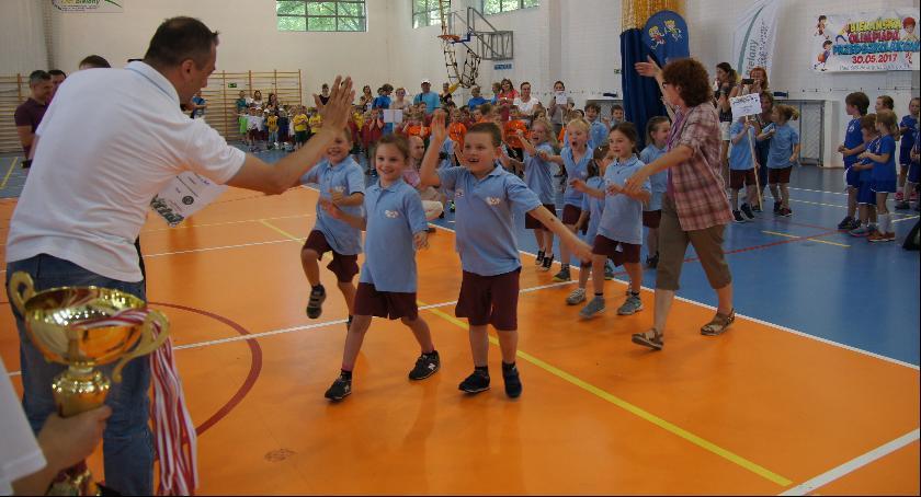 Dzieci, Bielańska Olimpiada Przedszkolaków - zdjęcie, fotografia