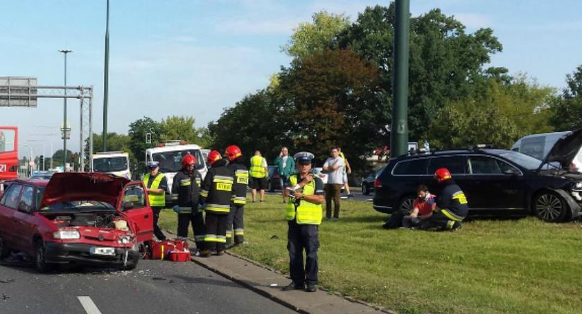 Bezpieczeństwo, Wypadek Pułkowej Straż publikuje zdjęcia - zdjęcie, fotografia