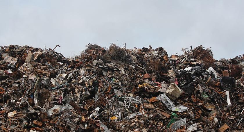 Gospodarka odpadami, Praca kryzys mieszkańców - zdjęcie, fotografia