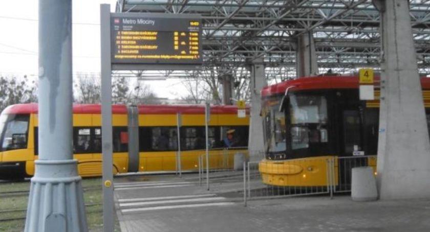 Komunikacja, Weekend tramwajów Młocinach - zdjęcie, fotografia