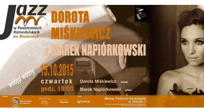 Muzyka, Dorota Miśkiewicz Marek Napiórkowski Podziemiach Kamedulskich - zdjęcie, fotografia