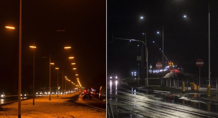Ulice i place, Lepsze oświetlenie Pułkowej - zdjęcie, fotografia