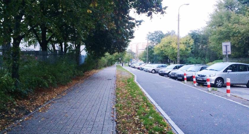 Komunikacja, Przebudowa ścieżek rowerowych Bielanach - zdjęcie, fotografia