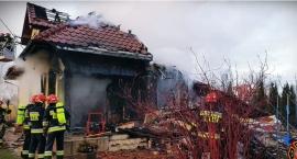 Ogień strawił wszystko. Rodzina z Łomianek potrzebuje pomocy
