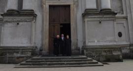 Remont zespołu klasztornego na Bielanach.